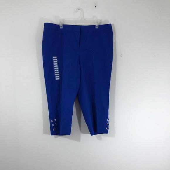 4a1aad3ba94 Rafaella Curvy Capri Pants Women s Plus Size 18